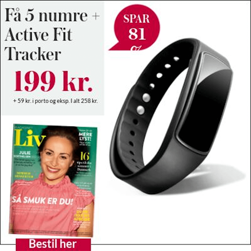 5 nr. + Active Fit Tracker ur