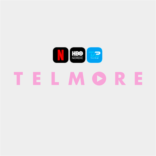 Telmore Play | Fri Tale 50 GB | 3  x streaming